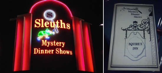 Sleuth's Mystery Dinner Shows in Orlando