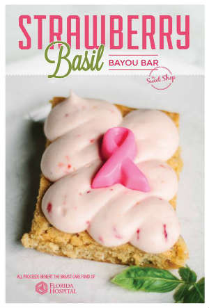 Strawberry Basil Bayou Bar from 4 Rivers Smokehouse's The Sweet Shop