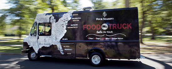 Four Seasons Resorts food truck tour