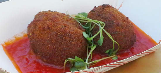 Arancini al Brasato - Four Seasons Resort Orlando