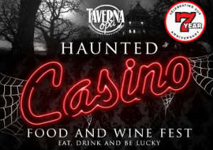 Taverna Opa Orlando hosts the Lucky 7 Haunted Casino