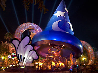 The Sorcerer's Hat at Disney's Hollywood Studios by Michelle Snow