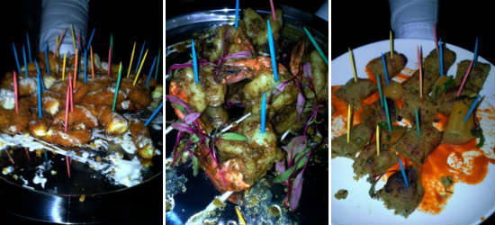 American Gymkhana Chicken, Shrimp, and Lamb