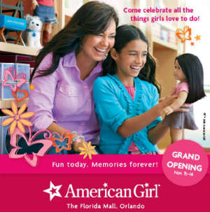 American Girl opens in Orlando