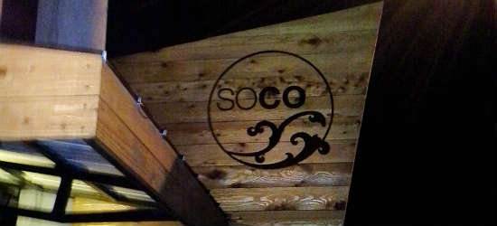Soco restaurant in Thornton Park