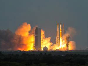 Orion Spacecraft test launch at Kennedy Space Cente