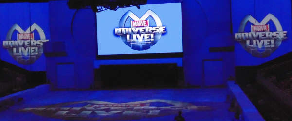 Marvel Universe LIVE! at Amway Center - photo Michelle Snow