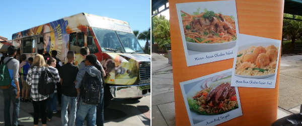 Orange County Public Schools food truck