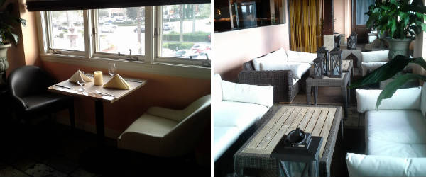 American Gymkhana - veranda seating