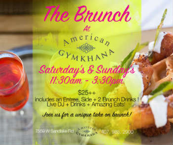 American Gymkhana weekend brunch