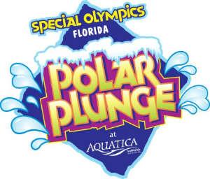 Special Olympics Florida's Polar Plunge at Aquatica Orlando