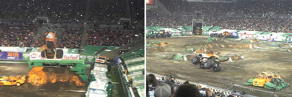 Monster Jam Tampa January 17, 2015