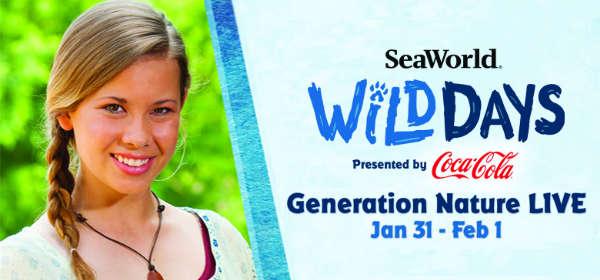 SeaWorld Orlando Wild Days Goes for Second Weekend with Guest Bindi Irwin Jan 31-Feb 1