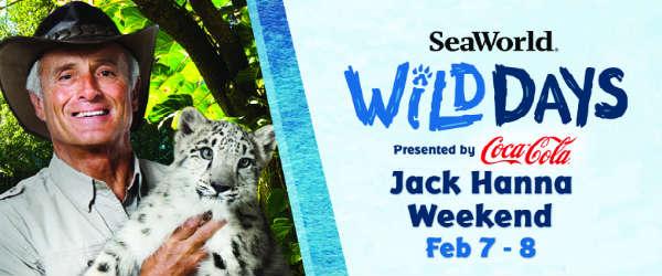 SeaWorld Orlando Wild Days Celebrates Last Weekend Feb 7-8 with Jack Hanna