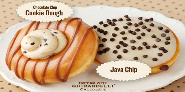 Chocolate Chips Galore doughnuts