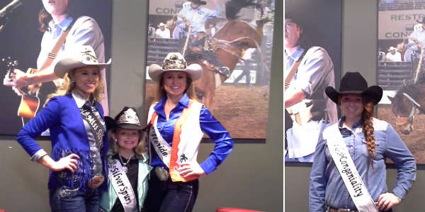 Meeting the Rodeo Queens of Silver Spurs Rodeo