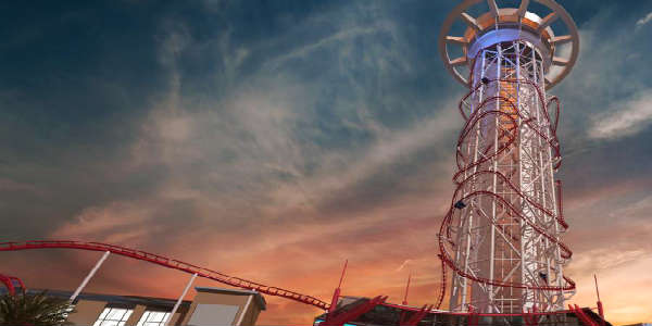 Skyfall Drop Tower Announced for Skyplex Complex on I-Drive in Orlando