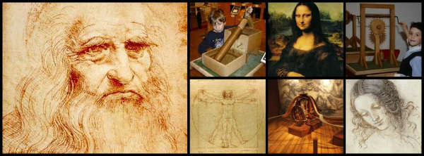 Leonardo da Vinci: Man-Inventor-Artist-Genius exhibit on I-Drive in Orlando