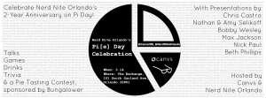 Nerd Nite Orlando Pi Day 2nd Anniversary