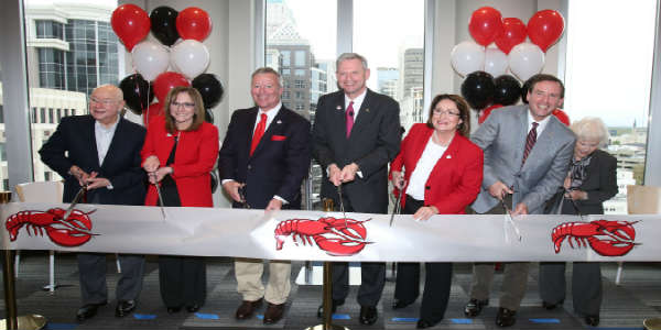 Red Lobster Seafood Co. officially opened its new restaurant support center and headquarters at CNL Tower 1, in downtown Orlando