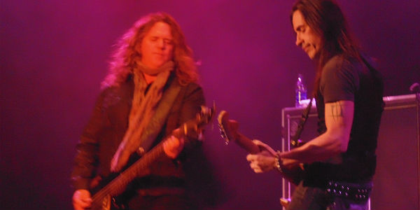 Extreme at House of Blues Orlando Apr 15, 2015 - Pat Badger and Nuno Bettencourt