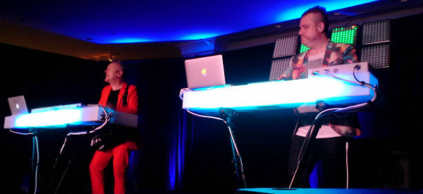 Howard Jones live at the Velvet Sessions at Hard Rock Hotel Orlando on March 26, 2015