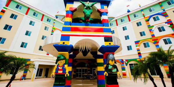 LEGOLAND Hotel Florida - entrance