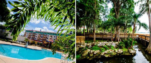 LEGOLAND Hotel Florida - Pool and Lake Eloise Boardwalk