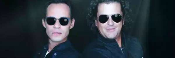 Marc Anthony and Carlos Vives