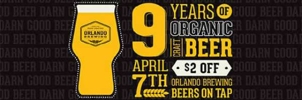 Orlando Brewing 9th Anniversary