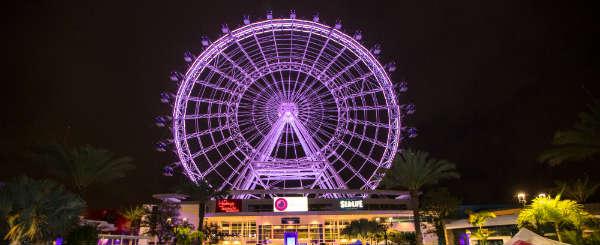 The  Orlando Eye First Lighting