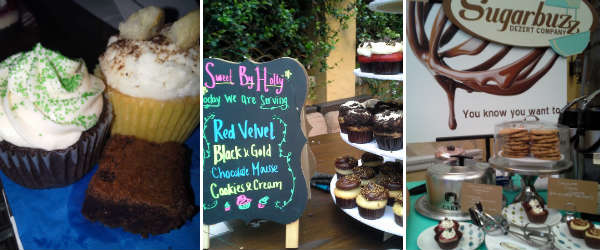 Baked goods by Just Desserts Orlando, Sweet by Holly, and Sugarbuzz Dezert Company