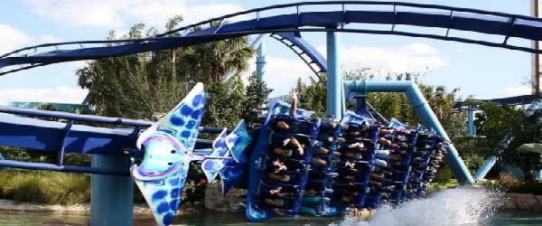 SeaWorld Orlando - Manta rollercoaster