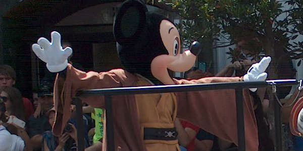 Star Wars Weekends - Jedi Mickey - photo by Michelle Snow