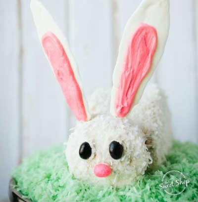 Sweet Shop Bunny Cake
