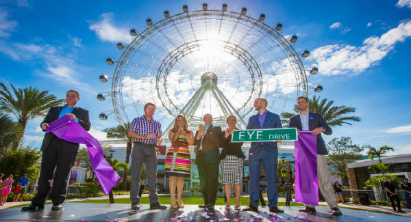 Ribbon cutting at The Orlando Eye May 4, 2015