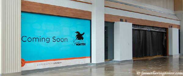 Gods & Monsters storefront at Artegon Mall