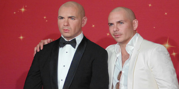Pitbull Gets Wax Figure at Madame Tussauds Orlando