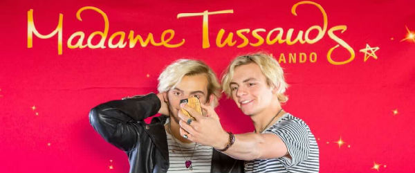 Ross Lynch Visits Madame Tussauds Orlando