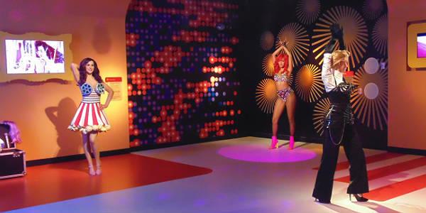 Madame Tussauds Orlando - Katy Perry, Rhianna, and Madonna
