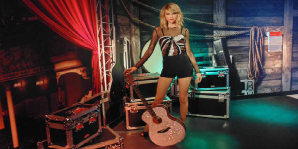 Madame Tussauds Orlando - Taylor Swift