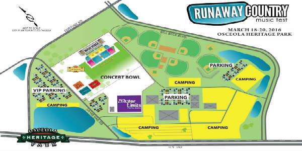 Runaway Country layout - artist rendering