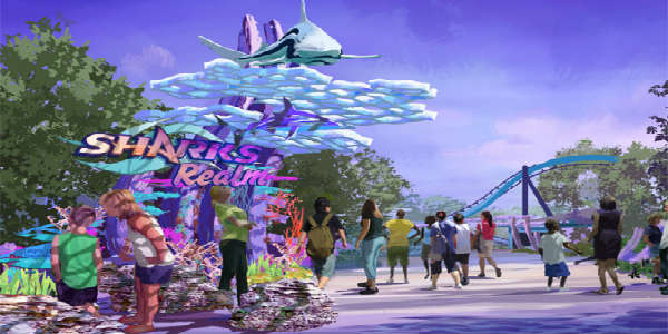 Mako at SeaWorld Orlando - artist rendering