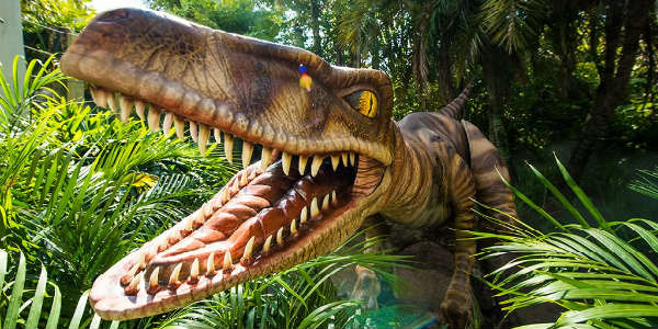 velociraptors have arrived at Jurassic Park in Universal's Islands of Adventure