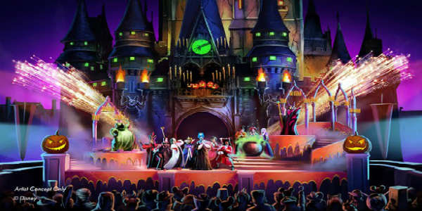 Mickey's Not-So-Scary Halloween Party Adds Hocus Pocus Villain Spelltacular for 2015