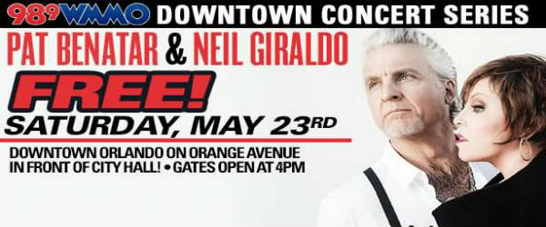 WMMO's Downtown Concert Series with Pat Benatar and Neil Giraldo