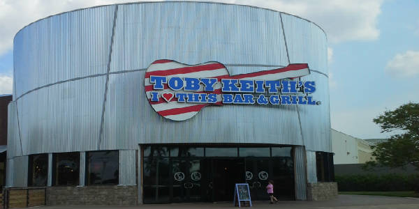 Toby Keith's I Love This Bar & Grill at Artegon Marketplace in Orlando