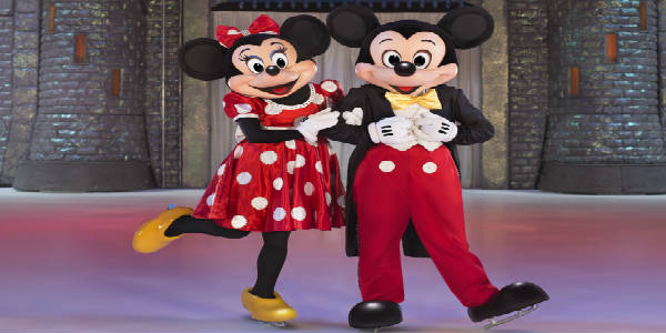 Disney On Ice Celebrates 100 Years of Magic feat Mickey and Minnie