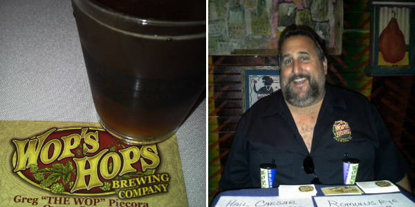 Wop's Hops Brewing Co at House of Blues Local Brews Local Grooves