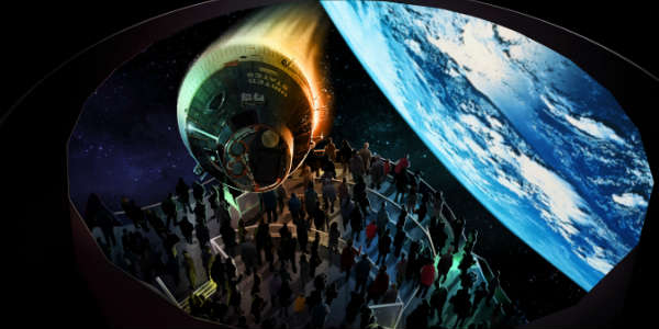Heroes and Legends Attraction to Open at Kennedy Space Center